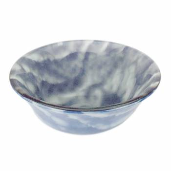 <PRE>Tempered Glass Vessel Sink with Drain, Blue-White Clouds Barrel Shape Bowl Sink </PRE>