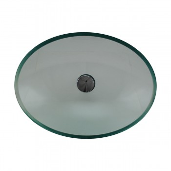 <PRE>Tempered Glass Vessel Sink with Drain, Green Tinted Single Layer Bowl Sink </PRE>zoom3