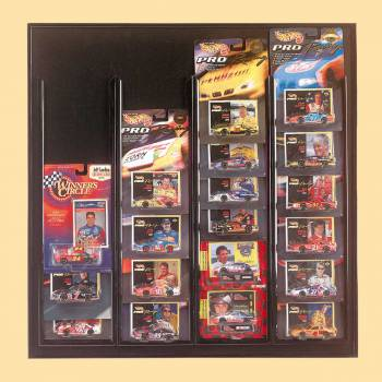 Car Miniatures Car Display Black for Race Champ Car Miniatures Display Toy Car Display Miniature Cars Display