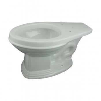 <PRE>Dark Oak High Tank L-Pipe Toilet Elongated White Bowl </PRE>zoom5