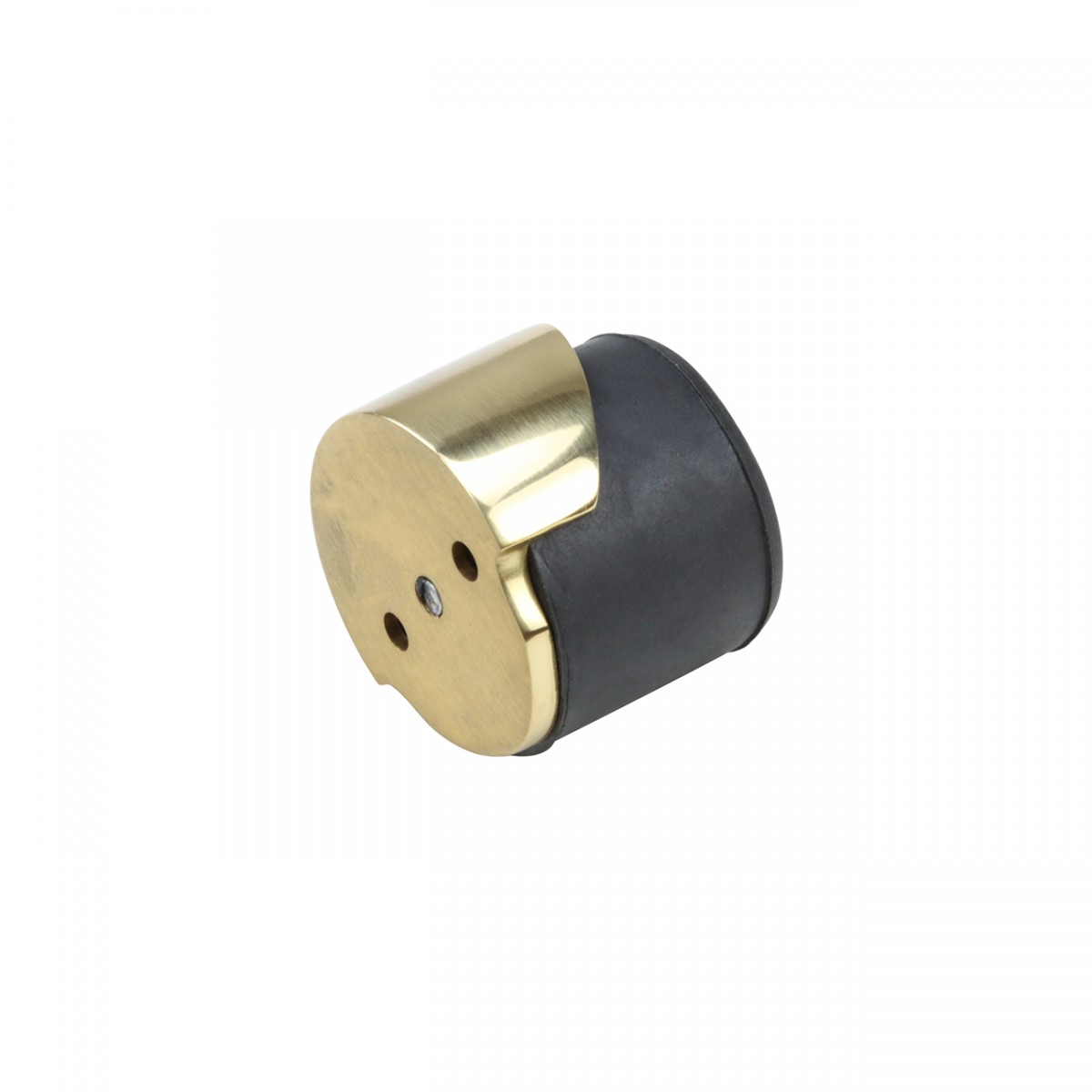 Black Door Stopper Brass Housing FloorWall Mount Rubber Floor Mounted Door Stopper Brass Door Stop Bumper Unique Dom Door Bumper