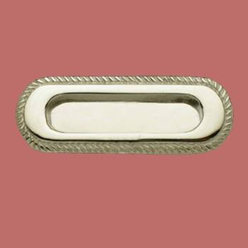 <PRE>Georgian Rope Recessed Sash Lift Chrome Brass </PRE>