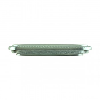 <PRE>Georgian Rope Recessed Sash Lift Satin Chrome Brass </PRE>zoom5