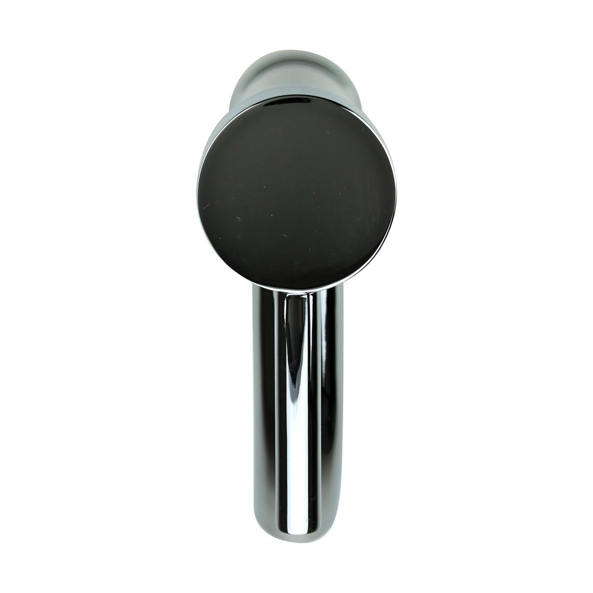 Bathroom Faucet Single Hole 1 Handle Chrome Plated Brass 9.5\