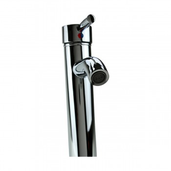 <PRE>Bathroom Faucet Single Hole 1 Handle Chrome Plated Brass 9.5inch</PRE>zoom6