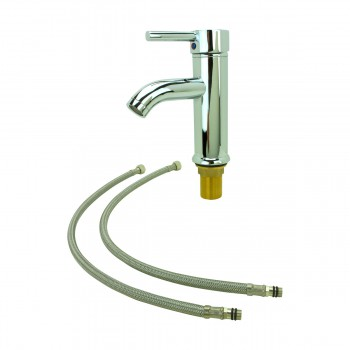 <PRE>Lever Chrome Brass Round Chrome Single Lever Faucet </PRE>zoom6