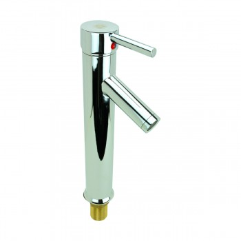 <PRE>Bathroom Faucet Chrome Lever 1 Handle Tall 12inchH Single Hole </PRE>zoom4
