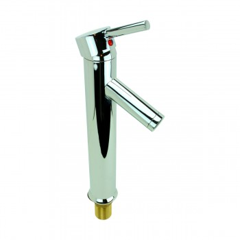 <PRE>Bathroom Faucet Chrome Lever 1 Handle Tall 12inchH Single Hole </PRE>zoom7