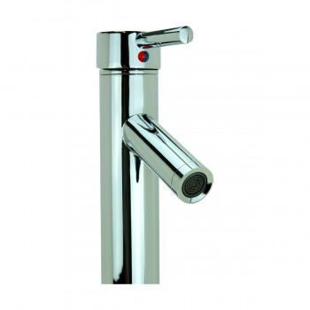 <PRE>Bathroom Faucet Chrome Lever 1 Handle Tall 12inchH Single Hole </PRE>zoom8