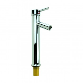 <PRE>Bathroom Faucet Chrome Lever 1 Handle Tall 12inchH Single Hole </PRE>zoom9