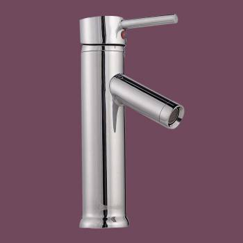 <PRE>Bathroom Faucet Single Hole Handle Chrome Solid Brass 10inch H </PRE>zoom2