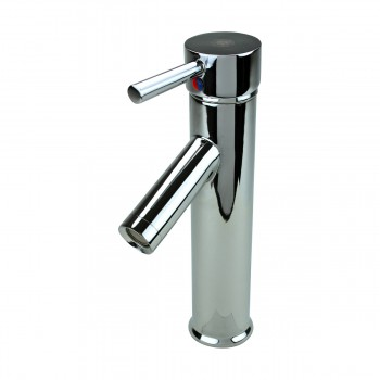 <PRE>Bathroom Faucet Single Hole Handle Chrome Solid Brass 10inch H </PRE>zoom4