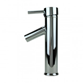 <PRE>Bathroom Faucet Single Hole Handle Chrome Solid Brass 10inch H </PRE>zoom7
