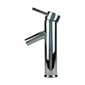 <PRE>Bathroom Faucet Single Hole Handle Chrome Solid Brass 10inch H </PRE>zoom8