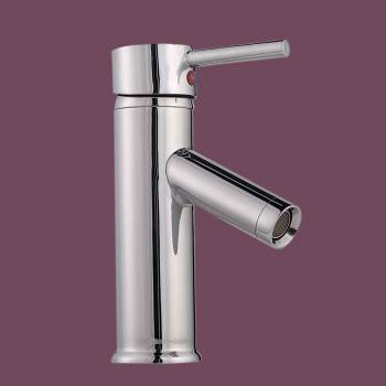 Single Lever Faucet 7 in. H Round - Glass sinks, Glass sink info & unique Glass accessories, quantity discounts on Glass sinks, Glass pedestal sinks, Glass wall mount sinks, Glass console sinks, counter top Glass sinks, Glass counter top sinks, Glass pedestal sinks, bathroom fixtures, Glass bathroom sinks, sink faucets & free shipping by Renovator's Supply.