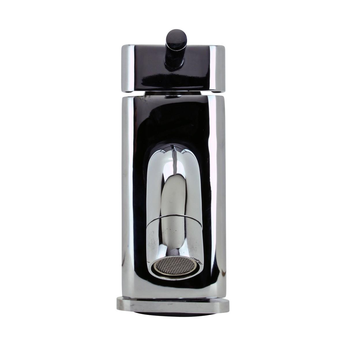 Bathroom Faucet Triangular Chrome 1 Handle Single Hole Faucets Bathroom Faucets Bathroom Sink Faucet