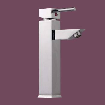 Single Lever Faucet Square - Floor Heat Registers, Aluminum, steel, wood and brass Floor heat registers info & free shipping by Renovator's Supply.