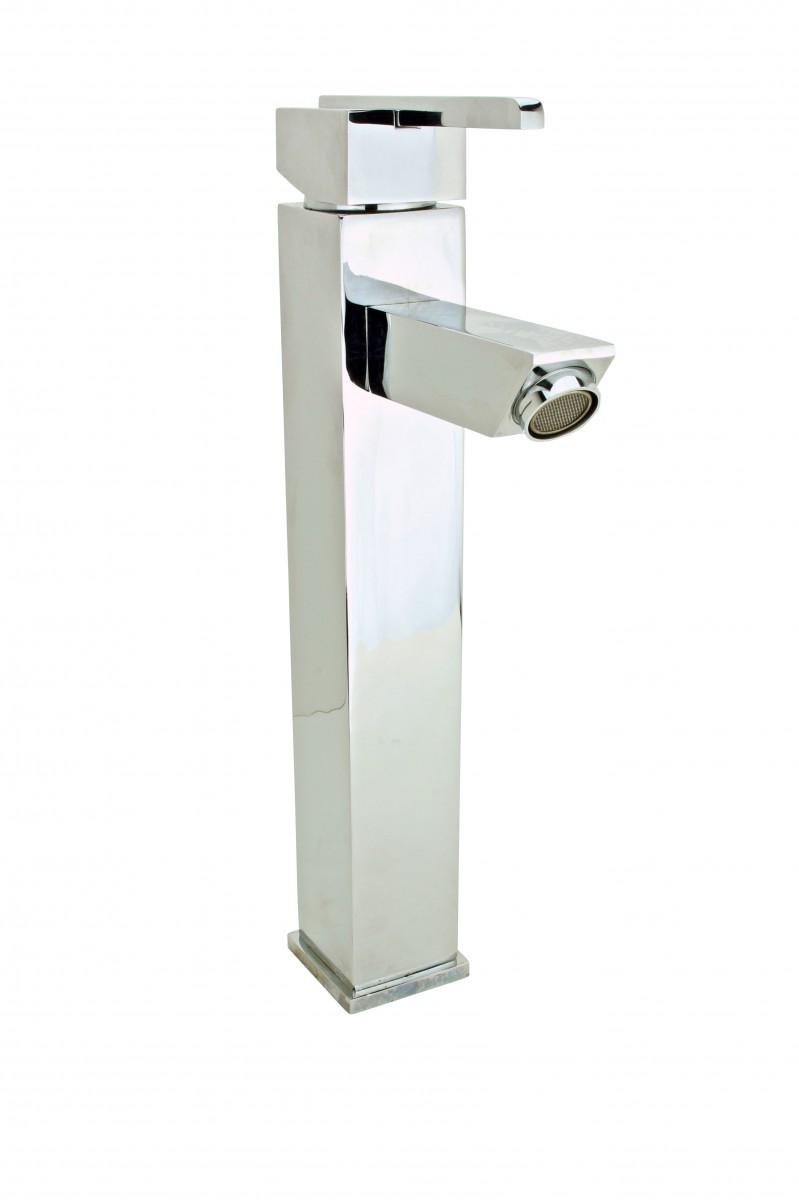 Bathroom Faucet Square Single Hole Square One Handle