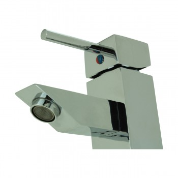 <PRE>Bathroom Faucet Chrome Plated Square Single Hole 1 Handle </PRE>zoom9