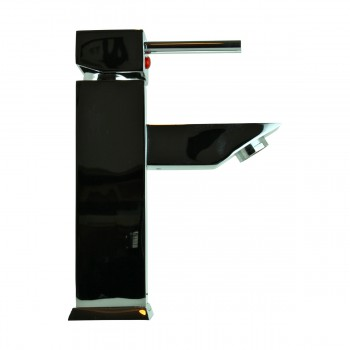 <PRE>Bathroom Faucet Chrome Plated Square Single Hole 1 Handle </PRE>zoom11