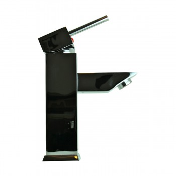 <PRE>Bathroom Faucet Chrome Plated Square Single Hole 1 Handle </PRE>zoom12