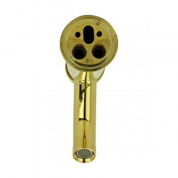 <PRE>Bathroom Faucet Gold PVD Brass Round Single Hole 1 Handle </PRE>zoom7