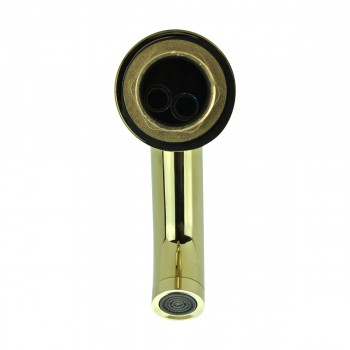 <PRE>Bathroom Faucet Gold PVD Brass Round Single Hole 1 Handle </PRE>zoom5
