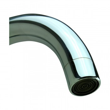 <PRE>Kitchen Faucet Chrome Cane Neck Single Hole Swivel 2 Handles</PRE>