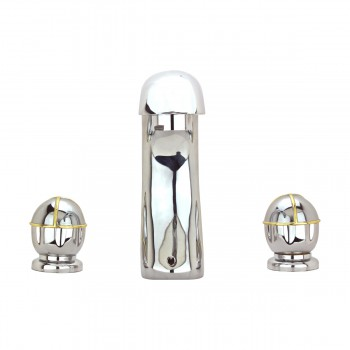 <PRE>Bathroom Faucet 8inch Widespread Chrome Ball 2 Handles </PRE>zoom3