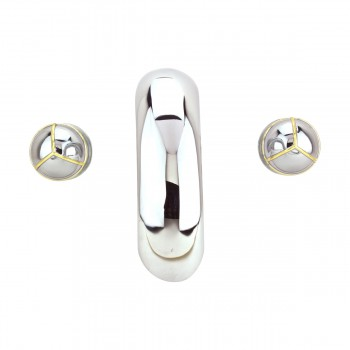 <PRE>Bathroom Faucet 8inch Widespread Chrome Ball 2 Handles </PRE>zoom12