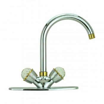 Kitchen Faucet Chrome Stetson Single Hole 2 Handles Faucets Bathroom Faucets Bathroom Sink Faucet