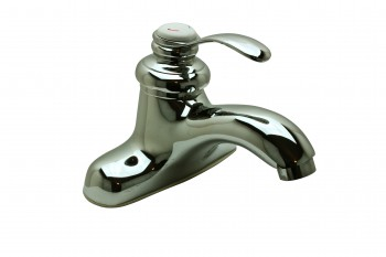 Tugboat Faucet Chrome/Porcelain