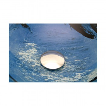 <PRE>Tempered Glass Vessel Sink with Drain, Dolphin Design Blue Bowl Sink</PRE>zoom7