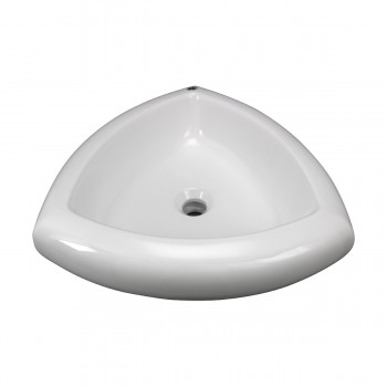 White Above Counter Bathroom Vessel Sink bathroom vessel sinks Countertop vessel sink Bathroom Vessel Sink