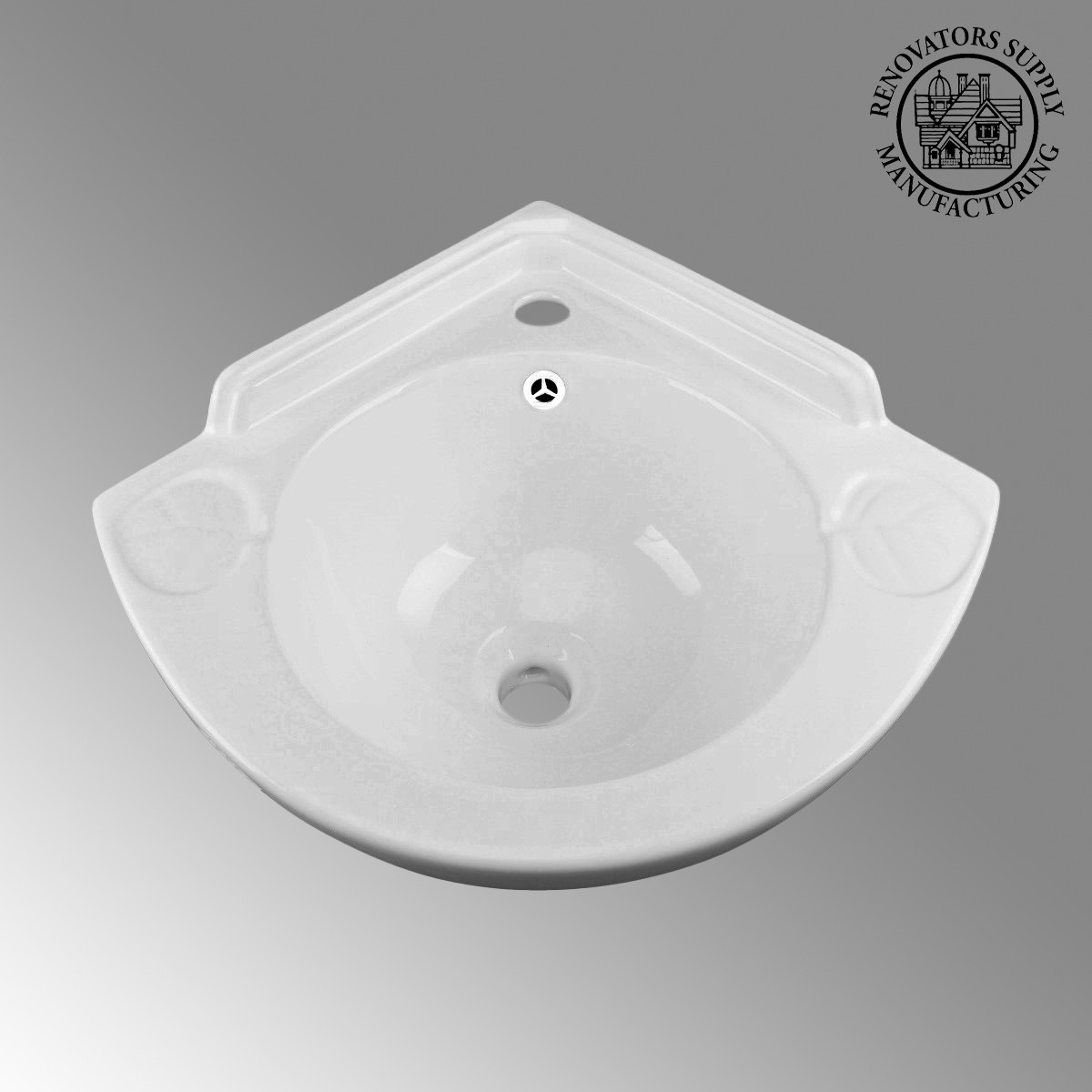 ... U003cPREu003eSmall Corner Bathroom Wall Mount Sink Grade A Vitreous Chinau003c/ ...