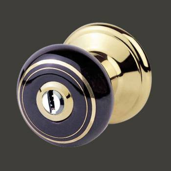 <PRE>Int&amp;Ext Keyed Door Knob Lock Set Porcelain Ajustable Backset </PRE>zoom2