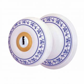 <PRE>Int&amp;Ext Keyed Door Knob Lock Set Porcelain Ajustable Backset </PRE>zoom1