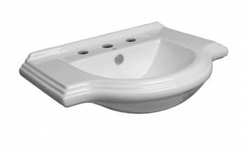 <PRE>Large Bathroom Console Sink 8inch Widespread </PRE>zoom7