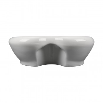 <PRE>Renovator's Supply Above Counter Vessel Bathroom Sink Heart White China Faucet</PRE>zoom6