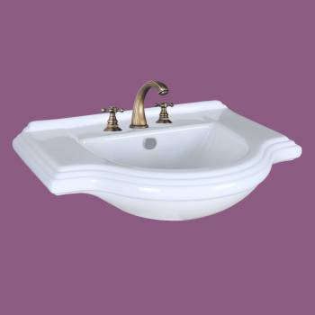 <PRE>Vintage Console Sink Bathroom 8inch Widespread </PRE>zoom2