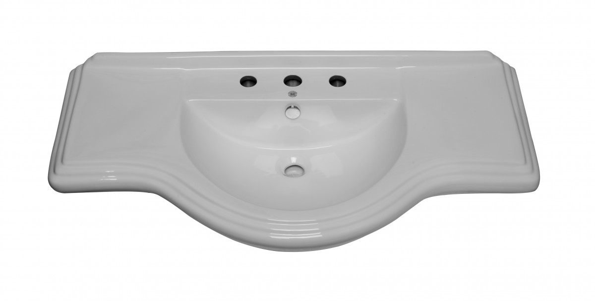 X Large Bathroom Console Sink 8 Widespread Sink Parts Sink Part Bathroom Sink Part