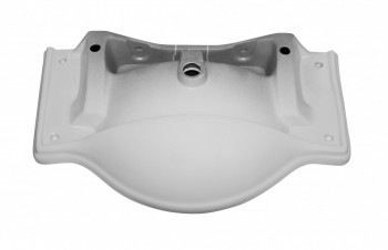 <PRE>White Vitreous China Large Bayside Sink Part </PRE>
