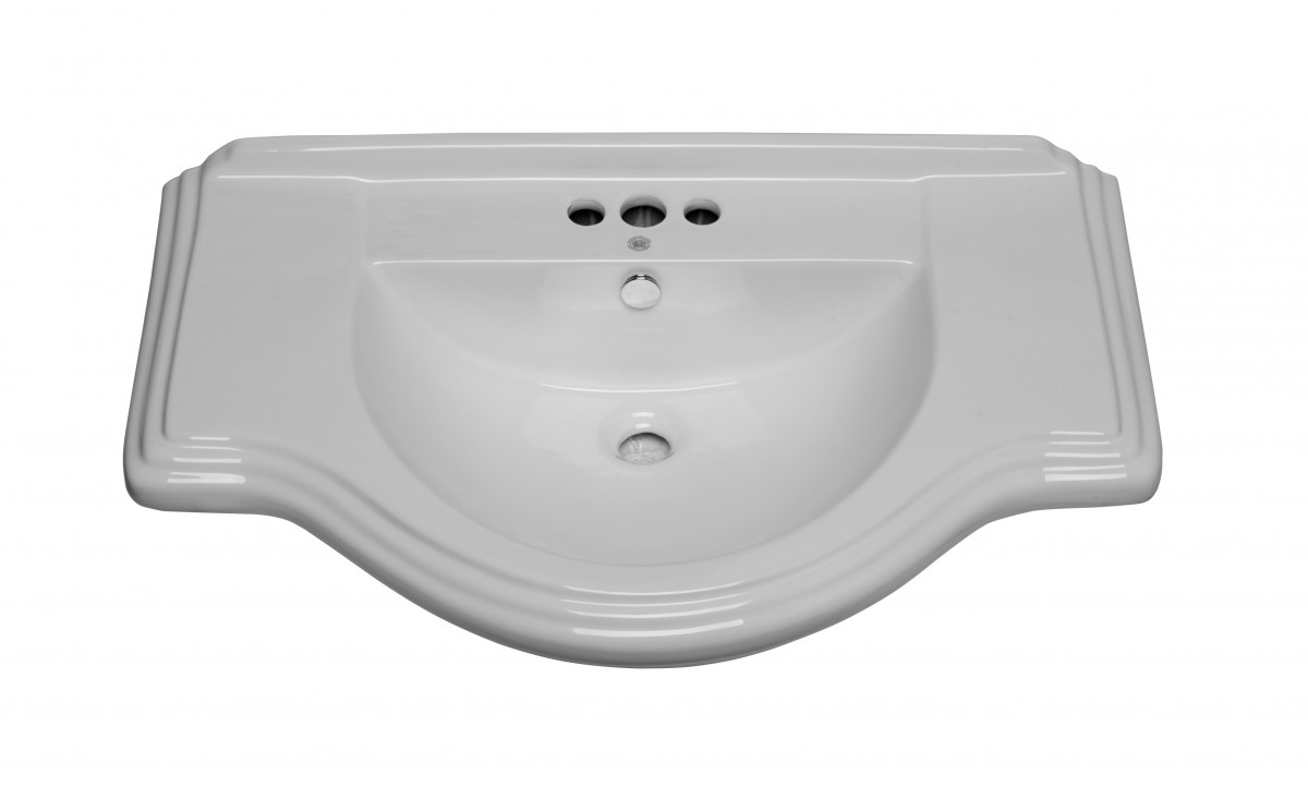 Large White Sink : Home Bathroom Bathroom Sinks & Parts Sink Parts