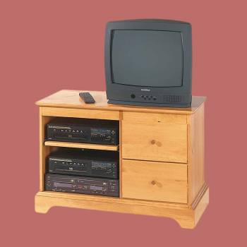 Entertainment Consoles for TV Heirloom Pine Kit 25 Inches Entertainment Consoles for TV Entertainment Centers Entertainment Consoles