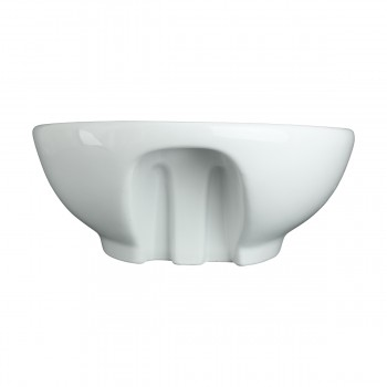 <PRE>Above Counter Vessel Bathroom Sink White China Faucet Hole </PRE>zoom5