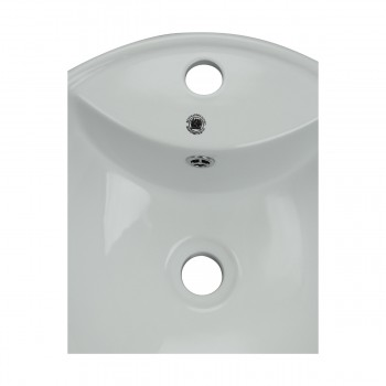 <PRE>Above Counter Vessel Bathroom Sink White China Faucet Hole </PRE>zoom7
