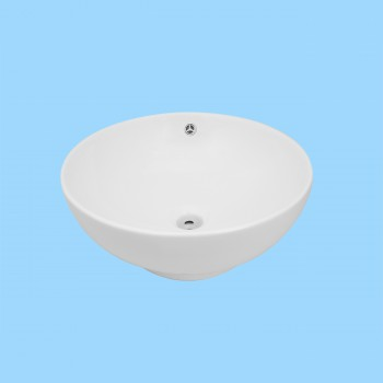 Watts White Vessel Sink - Vessel Sinks by Renovator's Supply.