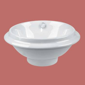 Artisan White Vessel Sink - Vessel Sinks by Renovator's Supply.