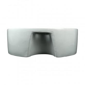 <PRE>Bathroom Vessel Sink White China Prescott Faucet Hole </PRE>zoom4