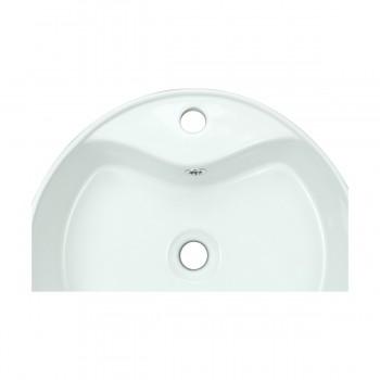 <PRE>Bathroom Vessel Sink White China Prescott Faucet Hole </PRE>zoom6